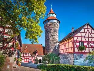Radvergnügen Hoch⁵ zwischen Nürnberg und Regensburg