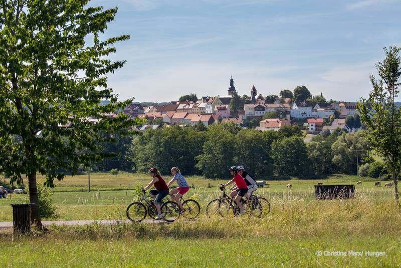 Foto: Radeln auf dem Vulkan – von Fulda nach Frankfurt an den Main